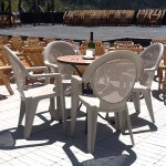 Café Table & Chairs Seating