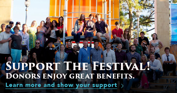 Support The Festival! Donors enjoy great benefits.